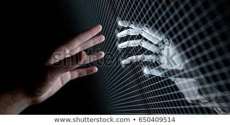 male robot idea stock photo © cthoman