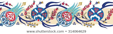 Iraní decorativo cerámica cuadros vista colorido Foto stock © boggy