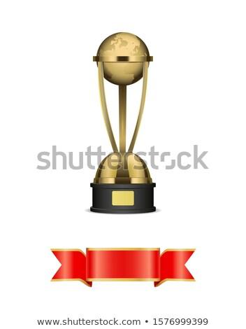 trofeo · coppe · nastri · argento · bronzo - foto d'archivio © robuart
