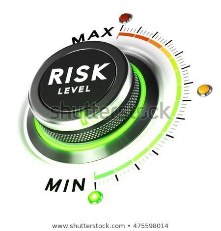 3D seguro risco 3d render palavra rachado Foto stock © nasirkhan