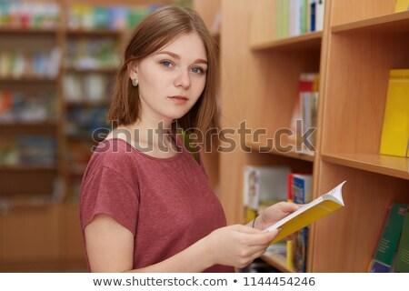 Studente Università esami uomo help lettura Foto d'archivio © Elnur