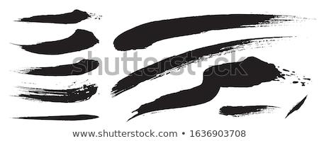 Siyah analog hat el yazısı örnek Stok fotoğraf © Blue_daemon