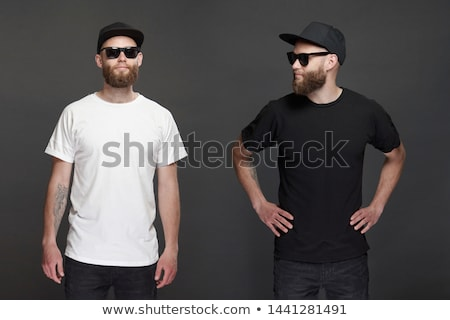 Mens T-shirt and Baseball Cap Stock photo © timurock