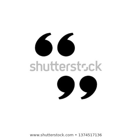 bocadillo · establecer · comillas · estilo · iconos · diseno - foto stock © kyryloff
