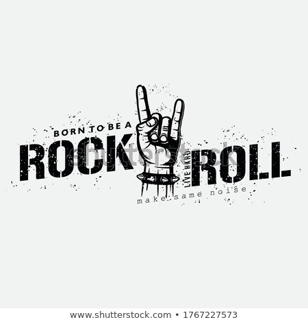 Rock music concept vector illustration. Stock photo © RAStudio