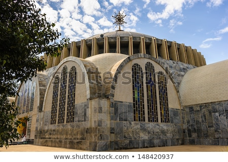 Church of Our Lady of Zion in Axum, Ethiopia Stock photo © artush