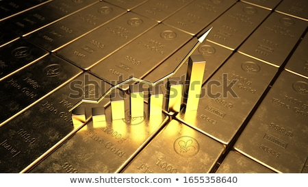 Rising Gold Rate Stock photo © limbi007