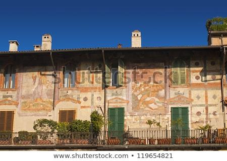 Maisons vérone Italie détail bâtiments famille Photo stock © boggy