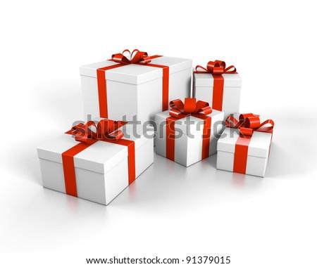 2011 多くの 小 クリスマス 贈り物 年 ストックフォト © nomadsoul1
