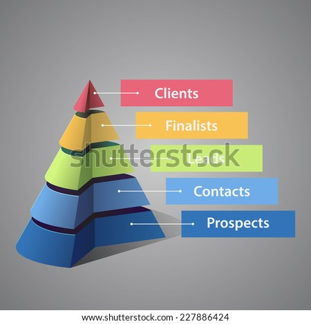 воронка статистика баннер бизнеса дизайна фон Сток-фото © Anna_leni