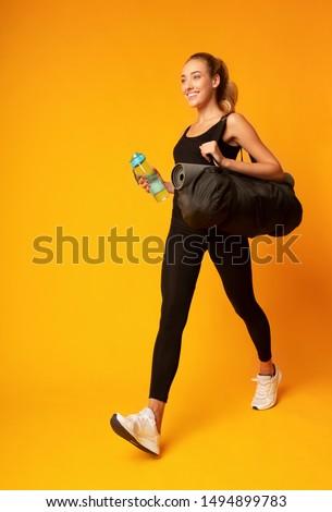 nő · tornaterem · test · testmozgás · üveg · képzés - stock fotó © photography33