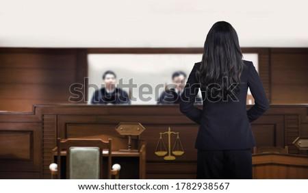 Female suspect Stock photo © photography33