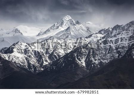 dağ · manzara · Hindistan · can · kullanılmış · doğa - stok fotoğraf © haraldmuc