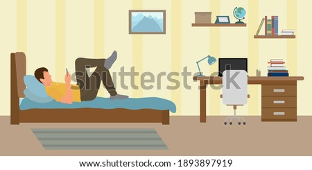 Reluctant to study Stock photo © pressmaster