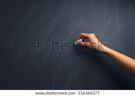 El yazı temizlemek tahta olgun çizim Stok fotoğraf © ra2studio