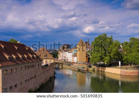 Commanderie St. Jean in Strasbourg, Alsace Stock photo © LianeM