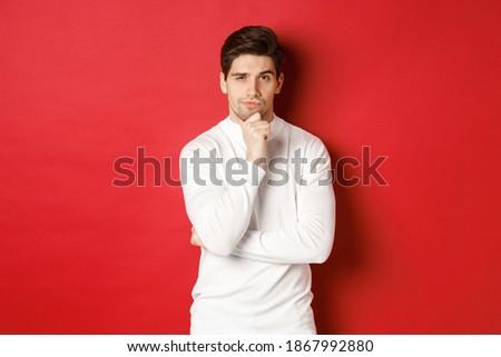 portrait of thoughtful brunette stock photo © acidgrey