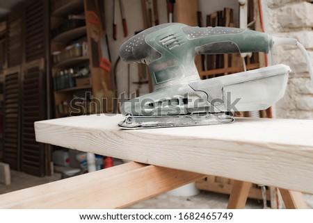sander in studio Stock photo © cynoclub