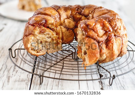 Monkey bread food photography Stock photo © Peteer