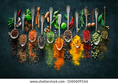 Seasonings Stock photo © simply