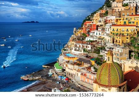Déli Olaszország tengerpart nyár nap napsütés Stock fotó © neirfy
