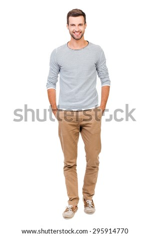 Man standing against white background stock photo © wavebreak_media