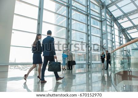 modern office building stock photo © luissantos84