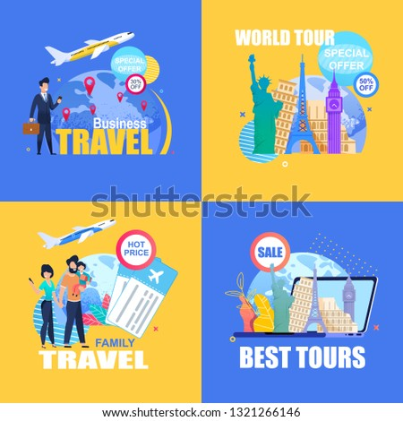 special travel luggage for family and business travels Stock photo © place4design