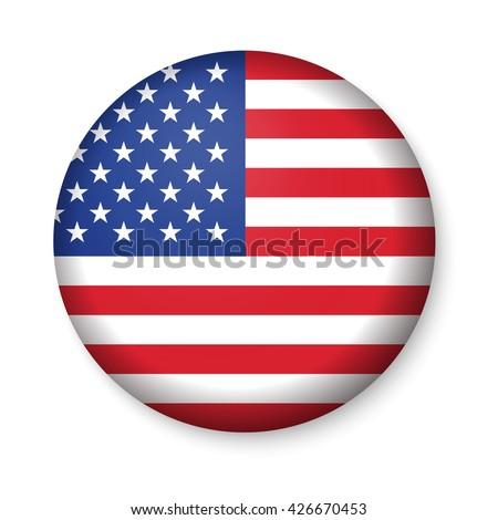 Patriotic USA button Stock photo © creisinger