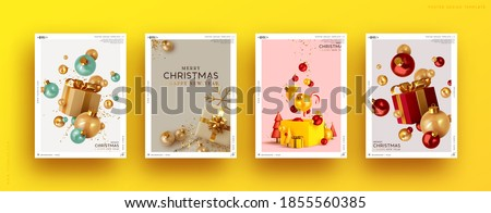 Stock fotó: Christmas sale set