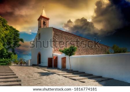 Ibiza Sant Joan de Labritja in Balearic Island Stock photo © lunamarina