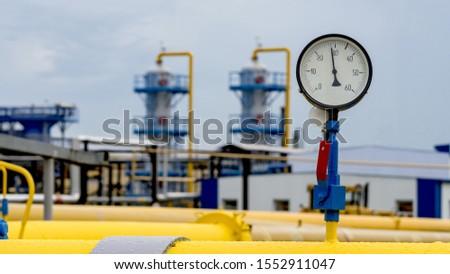 Yellow meter. New condition. Stock photo © boroda