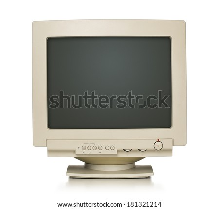 Old Monitor Stock photo © smuki