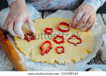 Рождества · шоколадом · Cookies · Ингредиенты · скалка - Сток-фото © brebca