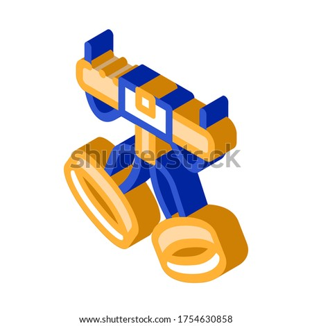 Harness Alpinism Hooking Device Tool isometric icon Stock photo © pikepicture
