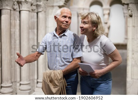 Tourist visiting a monument Stock photo © photography33