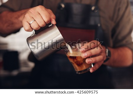Workers with jug in hand Stock photo © photography33