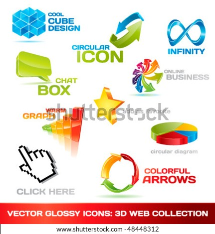 recycle golden vector icon design stock photo © rizwanali3d