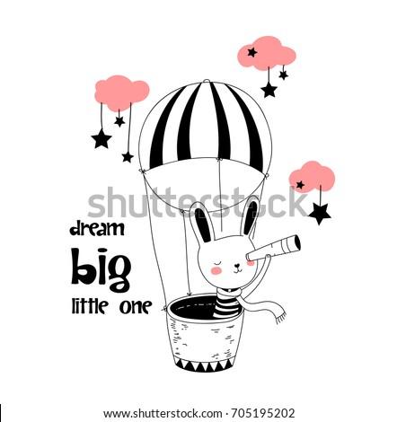 Kid naar lucht ballonnen cute meisje Stockfoto © ra2studio
