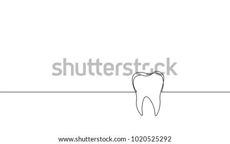 行 図面 歯 実例 アイコン スタイリッシュ ストックフォト © Blue_daemon