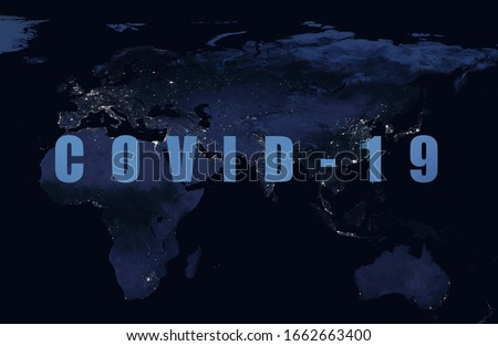 Stock photo: covid-19 coronavirus concept banner with text space