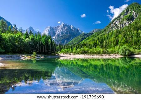 paysage · vue · alpes · Slovénie · montagne · gamme - photo stock © hraska