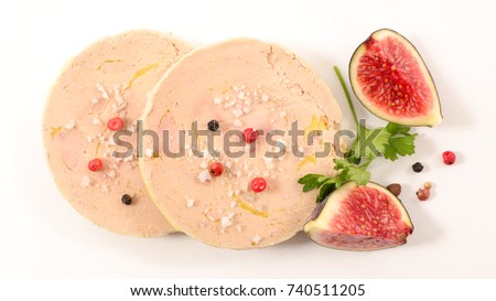 slice of foie gras Stock photo © M-studio