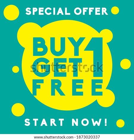 Get Your Deal Green Vector Icon Design Stock photo © rizwanali3d