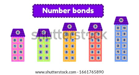 Number bonds of 7 Stock photo © bluering