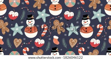 ベクトル · クリスマス · グリーティングカード · パーティ · 雪 · ボール - ストックフォト © sanyal