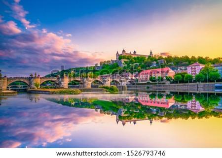 крепость Германия символ мнение небе город Сток-фото © borisb17