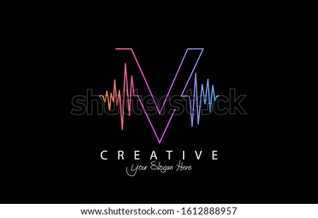 Music sound waves. Audio equalizer technology, pulse musical. Vector illustration. Stock photo © Designer_things