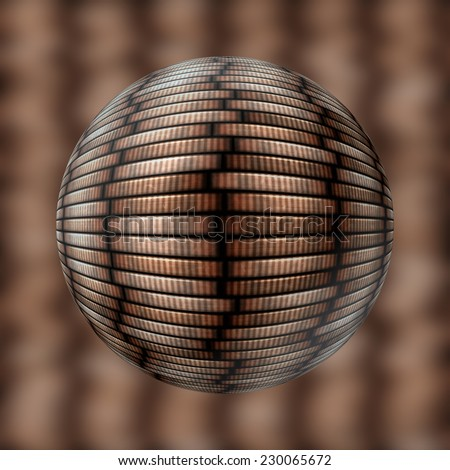 coin stack seamless texture in objectiv or lens Stock photo © jarin13