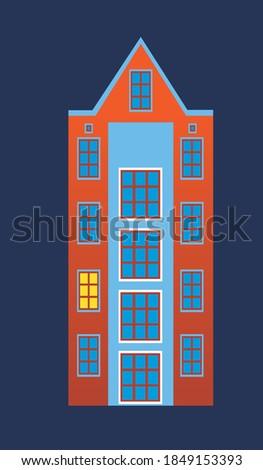 Color vintage remo emblema etiqueta placa Foto stock © netkov1